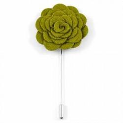 Trendhim Grøn Rose Reversnål