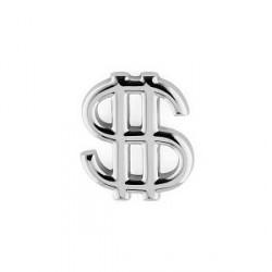 Trendhim Reversnål i Sølv med Dollartegn