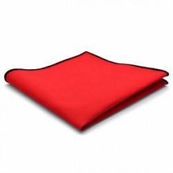 Trendhim Rød Bomulds Lommeklud