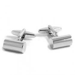 Trendhim Sølv Cylinder Manchetknapper