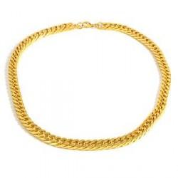 Trendhim Stålhalskæde Guld