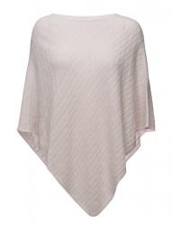 Triangle Cable Poncho