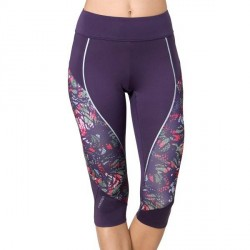 Triumph Triaction Cardio Apparel Better Capri - Lilac Pattern * Kampagne *