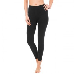 Trofé Trofe Leggings With Lace Trim - Black * Kampagne *