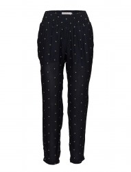 Trousers W. Embroidered Stars