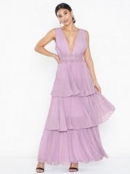True Decadence Tripple Frill Dress Maxikjoler