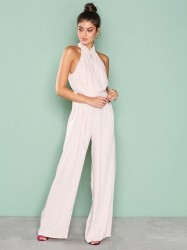 True Decadence Turtleneck Jumpsuit Jumpsuits Stone