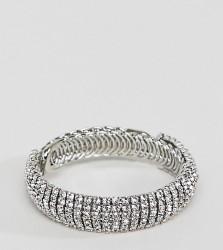 True Decandence silver diamante bracelet - Silver