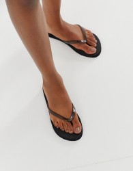 Truffle Collection flip flops - Black