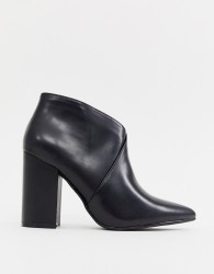 Truffle Collection Heeled Ankle Boots - Black