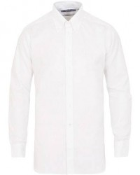 Turnbull & Asser Regular Fit Oxford Button Down Shirt White