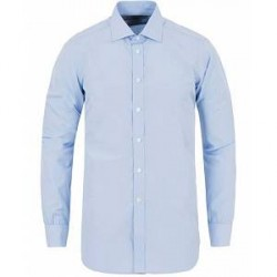 Turnbull & Asser Slim Fit Poplin Shirt Light Blue