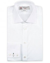 Turnbull & Asser Slim Fit Poplin Shirt White