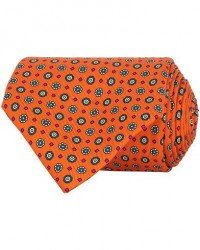 Turnbull & Asser The Great Gatsby Silk 9,5cm Tie Orange