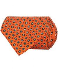 Turnbull & Asser The Great Gatsby Silk 9,5cm Tie Orange men One size Orange