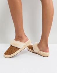 UGG Aira Sunshine Perf Chestnut Slippers - Tan