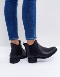 UGG Bonham Black Leather Chelsea Boots - Black