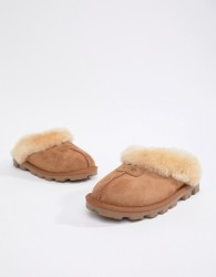 UGG Coquette Chestnut Slippers - Tan