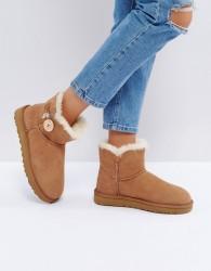 UGG Mini Bailey Button II Chestnut Boots - Tan