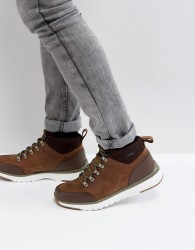 UGG Olivert Treadlite Waterproof Leather Boots - Brown