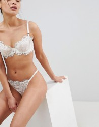 Ultimo Bridal Premium Eyelash Lace Bra - White