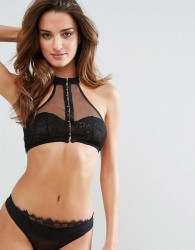 Ultimo Riley Crop Top - Black