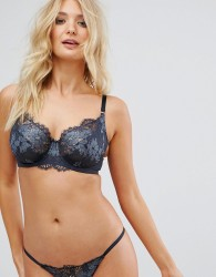 Ultimo Winter Balcony Bra DD-G Cup - Blue