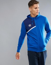 Umbro Hooded Zip Jacket - Blue