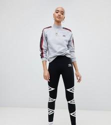 Umbro Leggings With Logo - Black