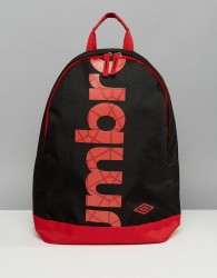 Umbro Logo Backpack - Black