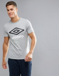 Umbro Logo T-Shirt - Grey