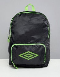 Umbro Packaway Festival Backpack - Black
