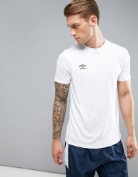 Umbro Poly Gym T-Shirt - White