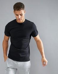Umbro Ringer T-Shirt - Black