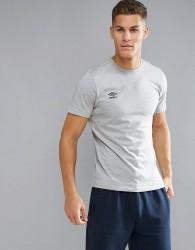 Umbro Small Logo T-Shirt - Grey