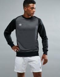Umbro Training Raglan Sweatshirt - Grey