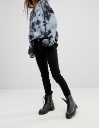 Uncivilised Superstretch Skinny Jeans - Black