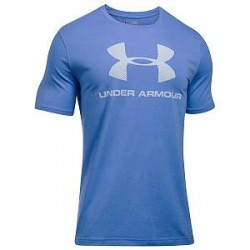 Under Armour Charged Cotton Sportstyle Logo - Blue * Kampagne *