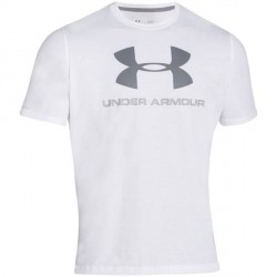 Under Armour Charged Cotton Sportstyle Logo - White * Kampagne *