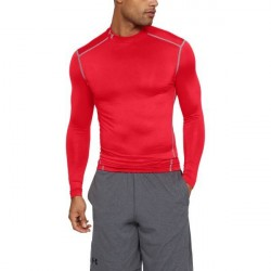 Under Armour ColdGear Armour Compression Mock - Red * Kampagne *
