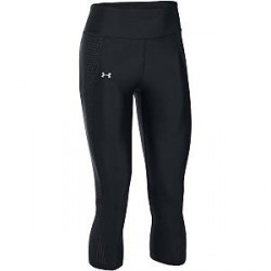 Under Armour Fly By Printed Capri - Black - X-Small * Kampagne *