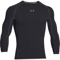 Under Armour HeatGear LS Compression Shirt - Black/Grey * Kampagne *