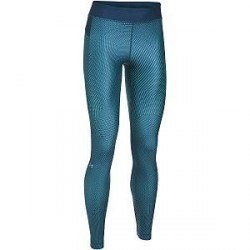 Under Armour HeatGear Printed Legging - Blue - Small * Kampagne *