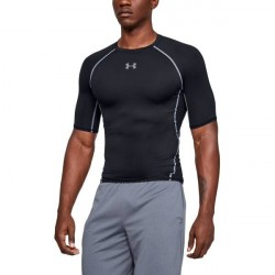 Under Armour HeatGear SS Compression Shirt - Black * Kampagne *