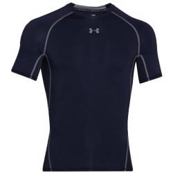Under Armour HeatGear SS Compression Shirt - Darkblue * Kampagne *