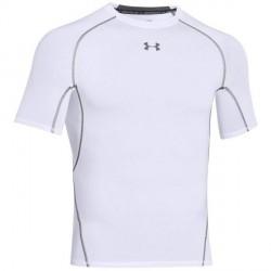 Under Armour HeatGear SS Compression Shirt - White * Kampagne *