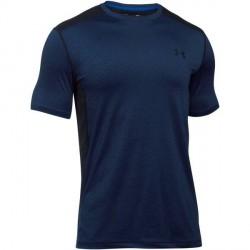 Under Armour Raid Short Sleeve T-Shirt - Navy-2 * Kampagne *