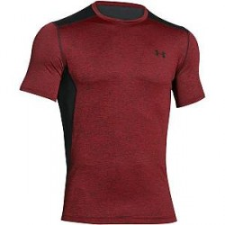 Under Armour Raid Short Sleeve T-Shirt - Wine red * Kampagne *