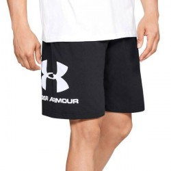 Under Armour Sportstyle Cotton Graphic Shorts - Black * Kampagne *