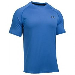 Under Armour Tech SS T-Shirt - Blue - Large * Kampagne *